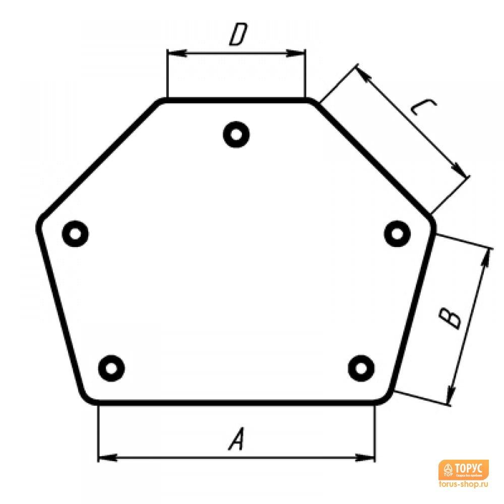 Как сделать магнитный угольник для сварки