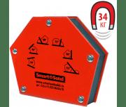 Угольник магнитный ТОРУС Smart&Solid MAG 615