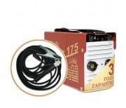 Инвертор сварочный ТОРУС-175 ТЕРМИНАТОР-2 + комплект сварочных проводов