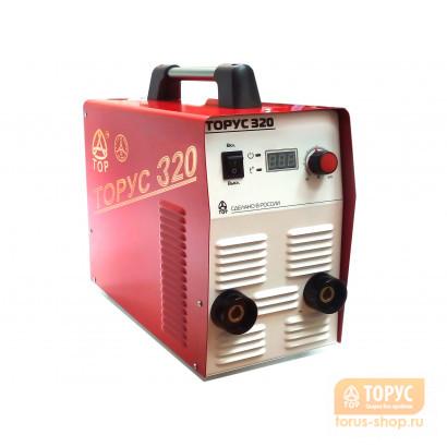 ТОРУС-320 + комплект сварочных проводов  в фирменном магазине Торус